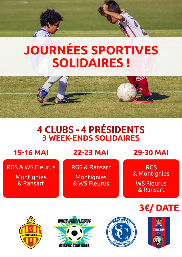 Journées sportives solidaires